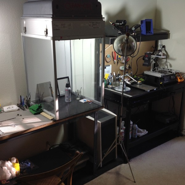 Clean room booth